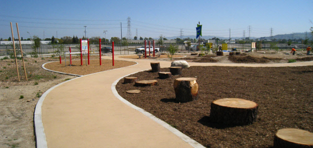 Madrid Middle School Park in El Monte