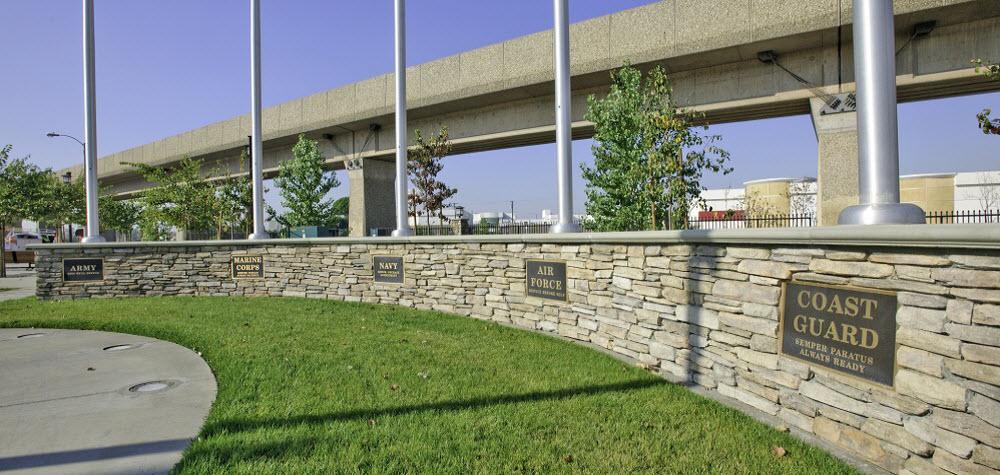 El Monte Veterans Park Memorial Wall
