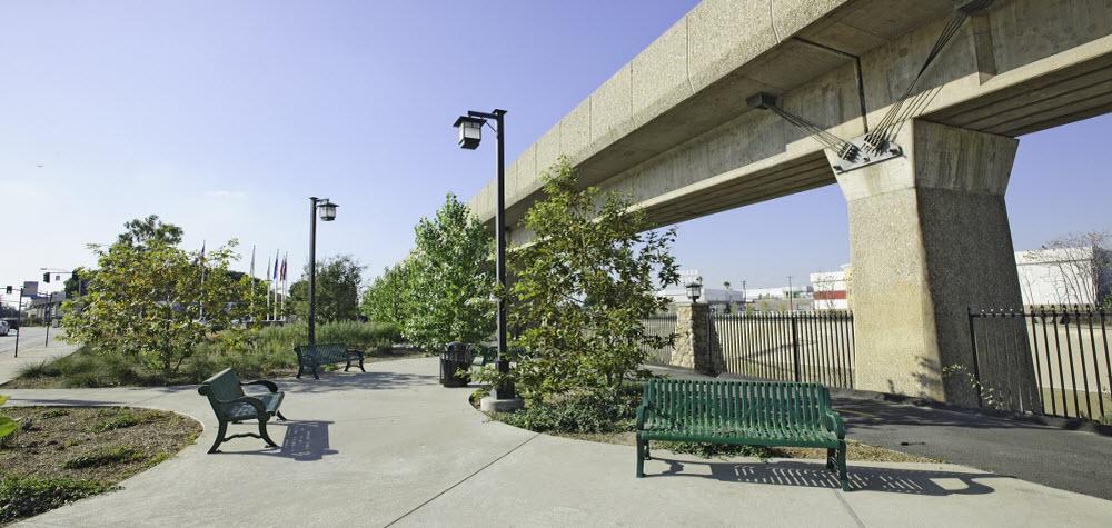 El Monte Veterans Park seating