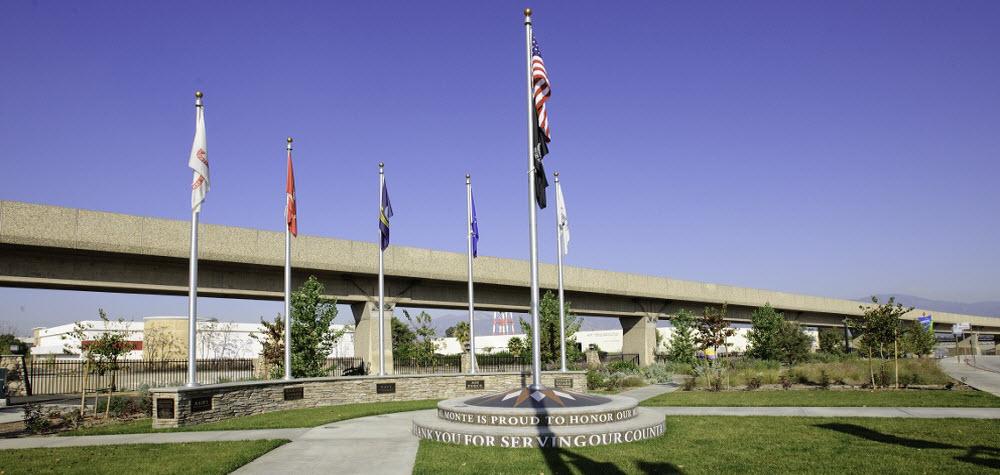 El Monte Veterans Park Memorial