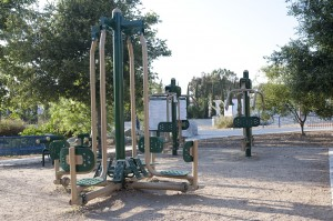 Lashbrook Park Playground Fitness Zone Equipment