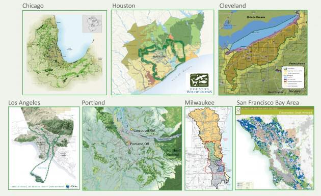 Metropolitan Greenspace Alliance Maps