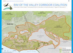 RIM of the Valley Corridor Study Area