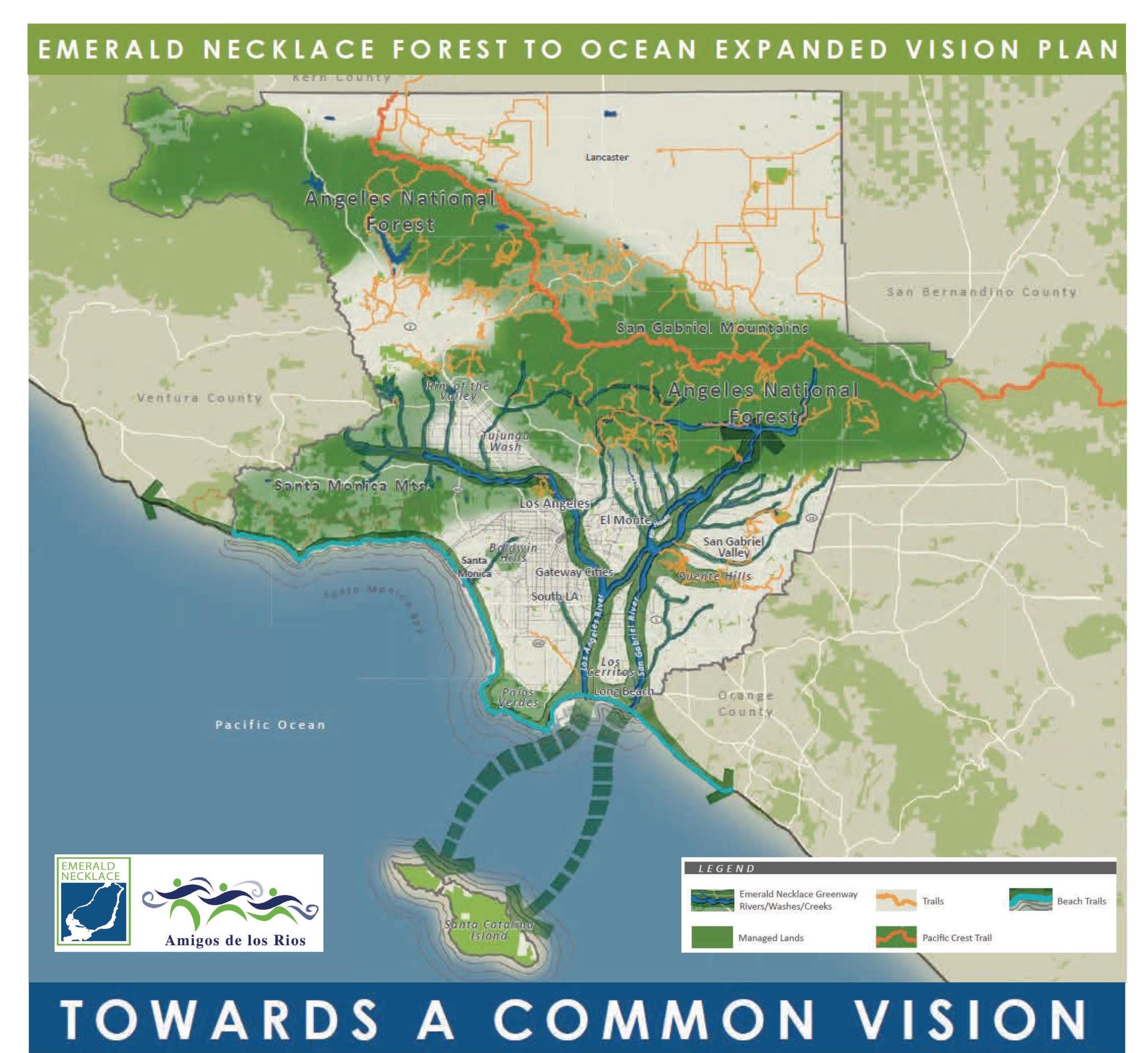 Emerald Necklace Forest To Ocean Vision Plan Emerald Necklace