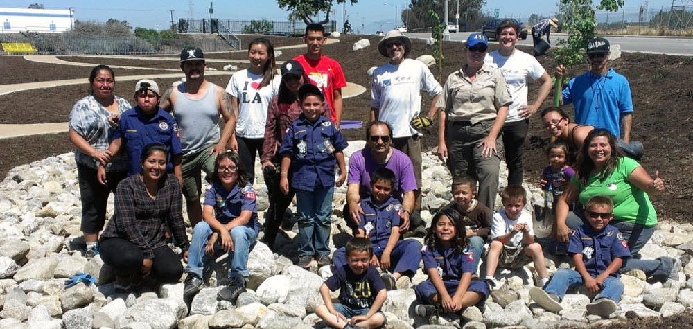 Volunteers at Circle Park