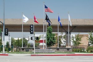 El Monte Veteran's Memorial-Flag-