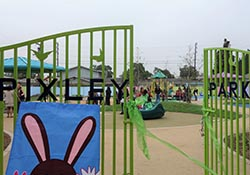 Pixley Park-front gate