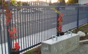 Durfee Thompson School Trail - fence line
