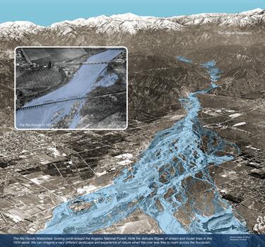 Rio Hondo River flood plain