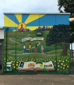 FINISHED MURAL-Walking to School Program