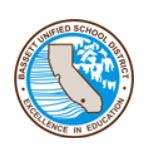 Bassett Unified School District logo